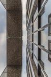 Photo d'architecture d'un bâtiment d'affaires à Ratisbonne photos stock