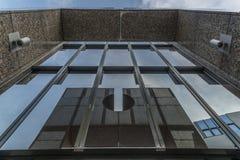 Photo d'architecture d'un bâtiment d'affaires à Ratisbonne image stock