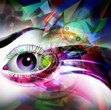 Photo d'art abstrait Images libres de droits