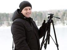 Photo d'homme Photographie stock libre de droits