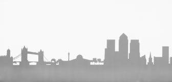 Photo d'illustration de hameaux de tour d'horizon de Londres Photo libre de droits