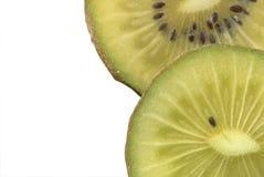 photo d'instruction-macro de kiwi Photographie stock libre de droits