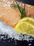 Saumons cuits Photo libre de droits
