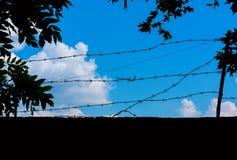 Photo d'un ciel bleu avec des nuages Images stock