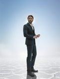 Photo d'un homme bel élégant d'affaires Image libre de droits