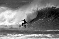 Photo d'un surfer Images stock