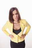 Photo d'une belle femme d'affaires Photo stock