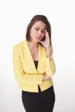 Photo d'une belle femme d'affaires Photos libres de droits