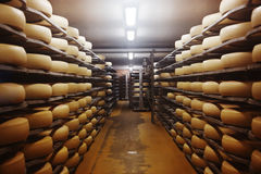 Photo d'une fromagerie Photos stock