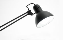 Photo d'une lampe de bureau d'isolement Images stock