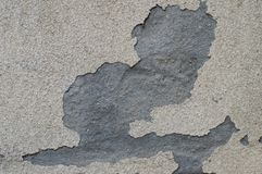 Damaged wall. Photo of damaged and grunge wall Royalty Free Stock Photography