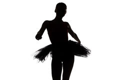 Photo of dancing teenage girl Royalty Free Stock Image