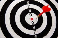 Photo of darts target Royalty Free Stock Image