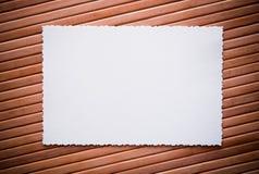 Photo de Ðld avec un cadre décoratif Photographie stock