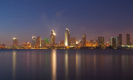 Photo de beau paysage urbain de San Diego Image libre de droits