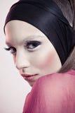 Photo de beauté de jeune modèle avec la peau claire Photo libre de droits