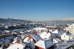 Photo de Bergen, Norvège Photos stock