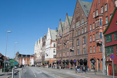 Photo de Bergen, Norvège Photographie stock libre de droits