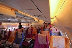 Photo de carlingue de HS-TAP Airbus A300-600 de Thaiairway Image stock
