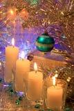 Photo de carte de décoration de Noël Image stock
