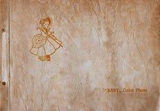 photo de chéri d'album illustration stock