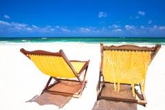 Photo de colada et de lunettes de soleil de pina sur tropical Photographie stock