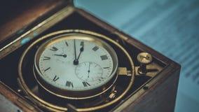 Photo de collection de boîte de montre de vintage image libre de droits