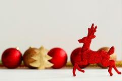 Photo de concept de Noël au-dessus du fond blanc an neuf des 2009 veilles Image stock