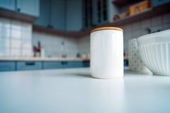 Photo de cuisine vide Photographie stock libre de droits