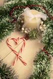 Photo de décoration de Noël Image libre de droits