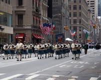 Photo de défilé de jour de rue Patrick Images stock