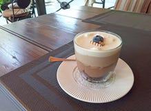 Photo de dessert de chocolat de trois configurations image libre de droits