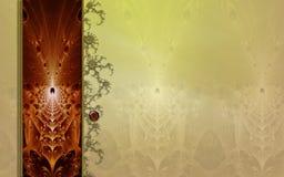 photo de disposition de fractale de conception de fond Photo libre de droits
