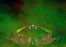 photo de disposition de fractale de conception de fond Images libres de droits