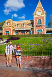 Photo de famille de Disneyland Photo stock