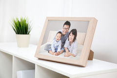 Photo de famille heureuse Photos stock