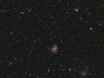 Photo de galaxie des feux d'artifice NGC6946 vraie image libre de droits