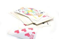Photo de jouer des cartes Photo stock