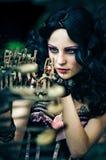 Photo de la belle fille photo libre de droits
