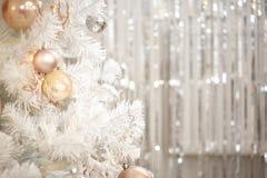 photo de la décoration 2018 de Joyeux Noël et de nouvelle année photo libre de droits