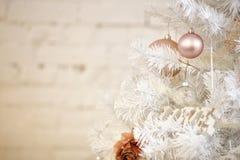 photo de la décoration 2018 de Joyeux Noël et de nouvelle année Images libres de droits