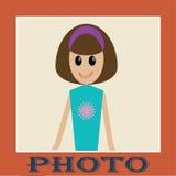 Photo de la fille Photos stock