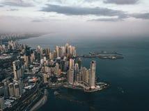 Photo de la partie de Panamá City photographie stock libre de droits