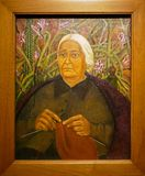 "Photo de la peinture originale ""portrait de Dona Rosita Morillo ""par Frida Kahlo images libres de droits"