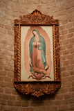 Photo de la Vierge de Guadalupe image libre de droits