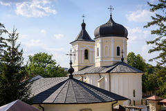 Photo de monastère de Capriana dans Moldau image stock