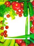 Photo de nourriture beaucoup de différents légumes, avec le fond blanc pour le texte photos libres de droits