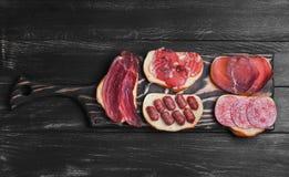 Photo de nourriture de plusieurs sandwichs photographie stock