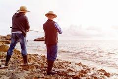 Photo de pêcheur Photo stock