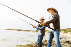 Photo de pêcheur Image stock